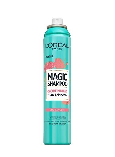 L'Oréal Paris Loreal Magıc Kuru Şampuan Gül Bahçesi 200 Ml Renksiz